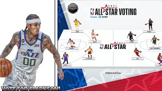 2021 NBA All Star Voting Tutorial | Vote For Clarkson! |