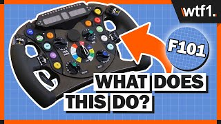 F1 Steering Wheel Explained - What Do All Those Buttons Actually Do?