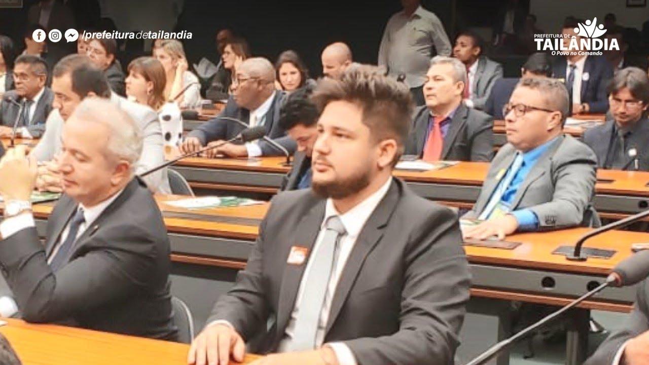 Vereador Lauro Hoffman participa de Audiência em Brasília – Prefeitura de Tailândia