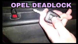 🔐 How to deadlock opel vauxhall