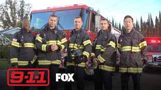 9-1-1 Salutes The Real Heroes, Firefighters & First Responders | Season 3