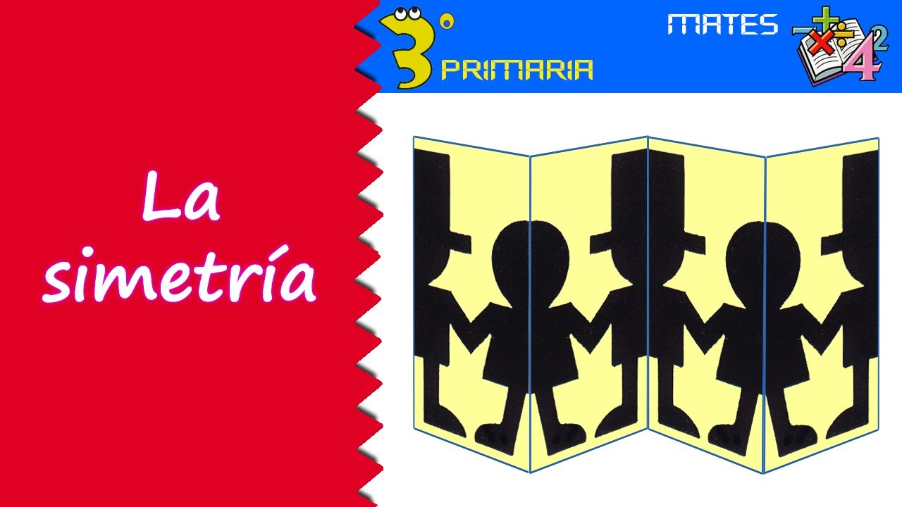 Matemáticas. 3º Primaria. Tema 6. La simetría