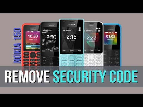 How to remove security code Nokia 150 (RM-1190)