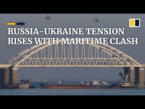 Sailors injured as Russia attacks and seizes Ukrainian ships in Black Sea