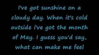 Temptations My Girl Lyrics- High Quality
