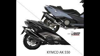 Echappement Mivv Edge Vs Origine Kymco AK 550