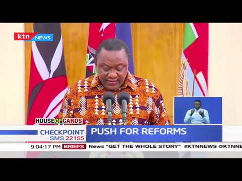 Uhuru, Raila to launch collection of signatures in support of BBI referendum push | House of Cards