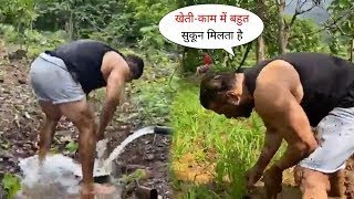 Salman Khan Rice Plantation On His Panvel Farm With Farmers | Showing Love For Kisan
