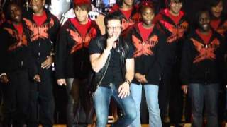 Danny Gokey Its Only with the WI SHF Choir performed at Sheboygan 11-19-10.MP4