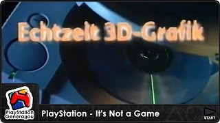 PlayStation - It's Not a Game - Deutschland TV Commercial (1996)