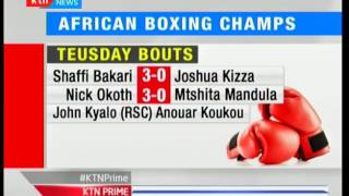 Kenyan stars advance to the next round of the African Boxing Championships in Congo