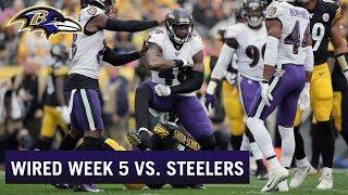 Wired: Ravens Take Down Steelers in Emotional Week 5 Victory | Baltimore Ravens