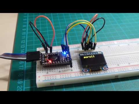 OLED/SSD1306WithAdaFruitLibraries demo