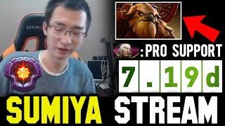 SUMIYA 7.19d Invoker ft Incredible Support | Sumiya Facecam Stream Moment #312