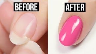 How To Fix A Broken Nail With Household Items!