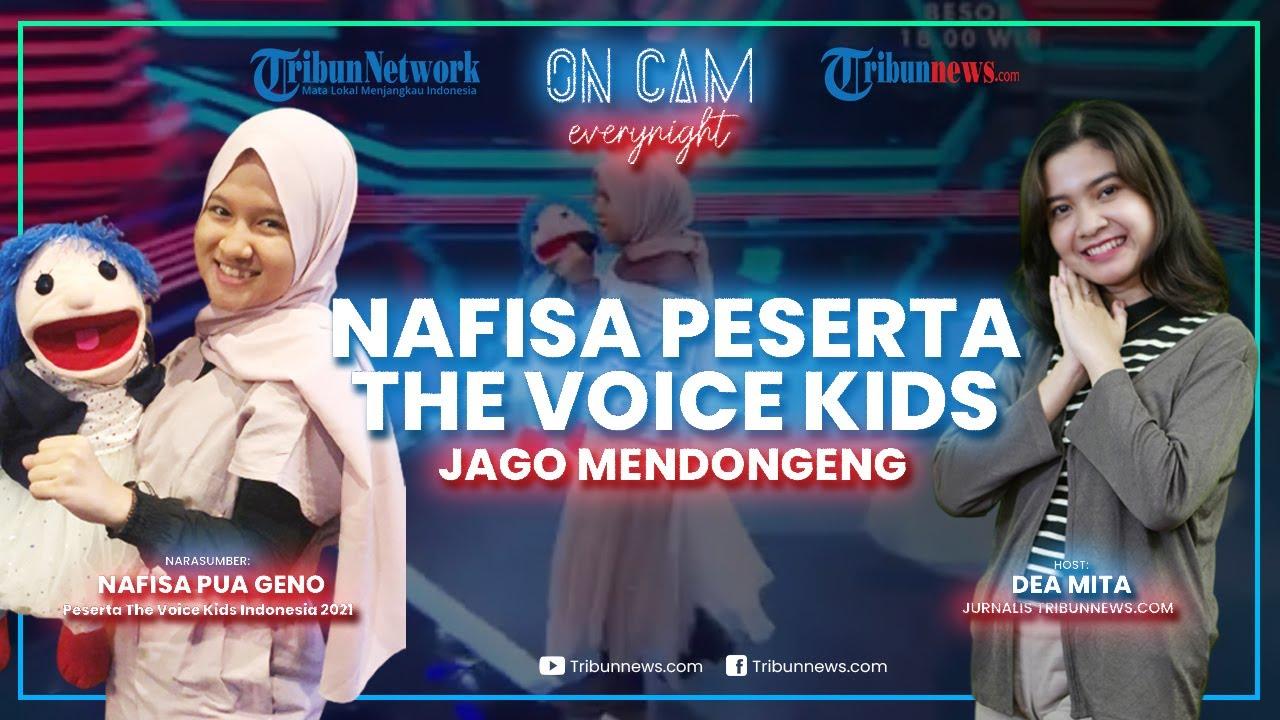 Cerita Nafisa dan Bonekanya Lolos Audisi The Voice Kids 2021, Sejak Kecil Hobi Nyanyi dan Mendongeng