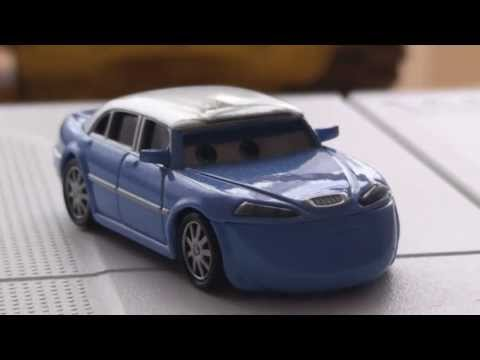 Pixar Cars Jay LIMO Eaten By SCREAMIN BANSHEE