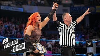 Inaugural champions crowned: WWE Top 10, Feb. 16, 2019