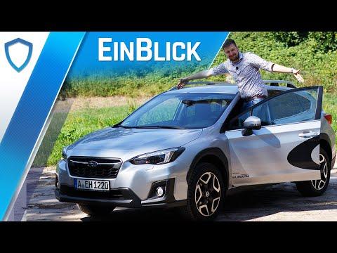 Subaru XV 2.0i (2019) - Der kernige Typ unter den Kompakt-SUVs? Vorstellung & Test