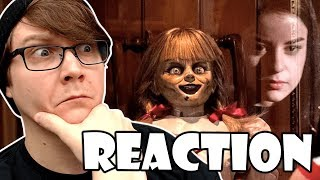 ANNABELLE COMES HOME - Official Trailer 2 Reaction!