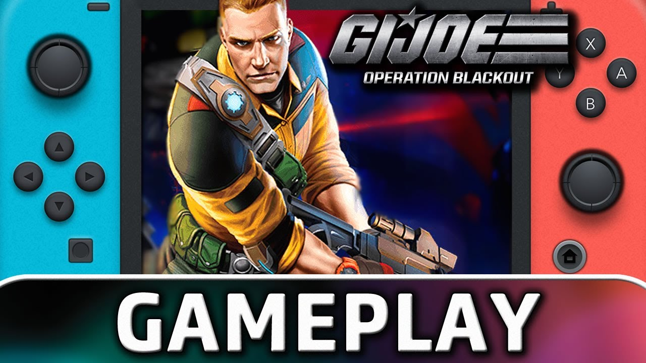 G.I. Joe: Operation Blackout | Nintendo Switch Gameplay