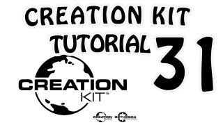 Creation Kit Tutorial №31 - Object Palette Editing