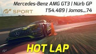 GT Sport | Nurburgring GP Hot Lap | Mercedes-Benz AMG GT3