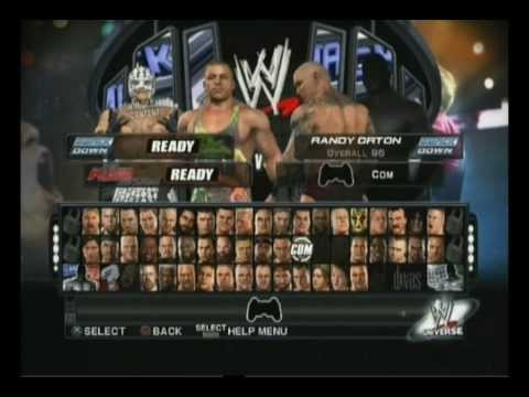 Download WWE SmackDown Vs. Raw 2011 RVD & Rey Mysterio Vs. Sting & Sin Cara HD Mp4 3GP Video and MP3