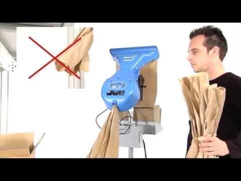 FillPakTT mit Schneidemechanismus - Verpackung mit Füllmaterial