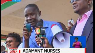 Nurses maintain that strike will continue until their demands are met