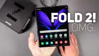 Samsung Galaxy Z Fold2 5G Unboxing and Tour!