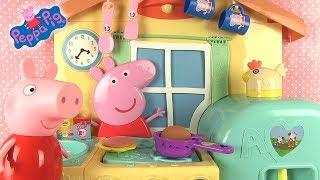 Cuisine De Peppa Pig Pancakes  Les Crêpes Jouets