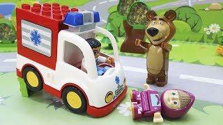 Маша и Медведь игрушки у #видео для детей - Взрослая Маша! Развивающие #мультфильмы для детей 2017