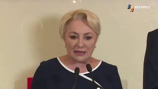 Dăncilă: Am vorbit despre situaţia Guvernului; am hotărât ca săptămâna viitoare să mergem în Parlament