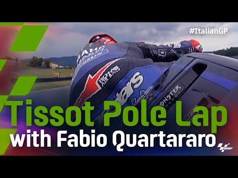 ファビオがポールポジション!MotoGP 2021 第6戦イタリア ファビオのオンボード映像