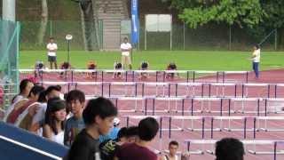 110m hurdles men final  - IVP 2013/14