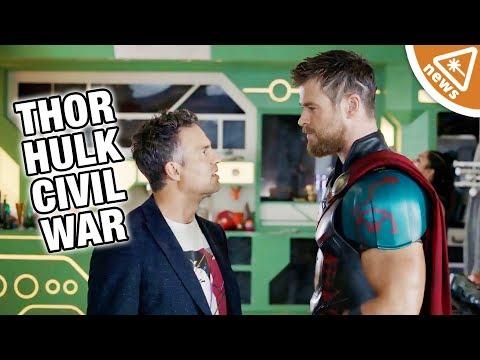 Where Were Thor & Hulk During Captain America Civil War? (Nerdist News w/ Jessica Chobot)