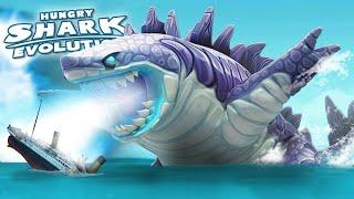 HUNGRY SHARK EVOLUTION - ALL SHARKS GAMEPLAY 2020