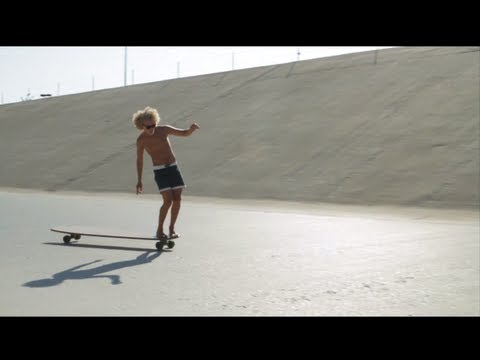 Hamboards Bamboo Classic: flexy and fun land surfing