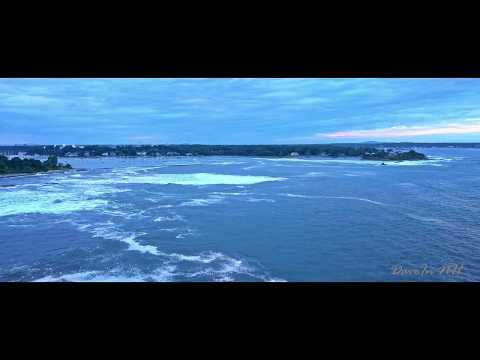 Vangelis - Fields of Coral: Relaxing Drone Flight Over Rough Surf after Hurricane Dorian