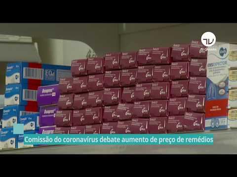 Comissão do coronavírus debate aumento de preço de medicamentos  - 03/06/20