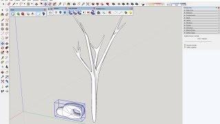 """Como Gerar Formar Orgânicas No SketchUp A Partir De Modelos 3D De Formas """"regulares"""""""
