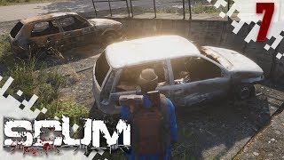 SCUM - Sneaking In To The Military Base! (Multiplayer Gameplay Video) - EP07