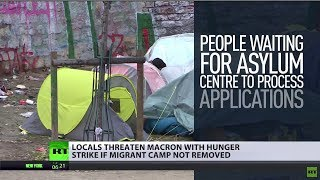 'Migrant camp ruins district': Parisians threaten hunger strike if shelter not removed
