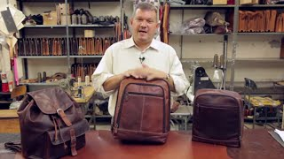 How To Choose The Right Leather Backpack For Your Needs | Jack Georges