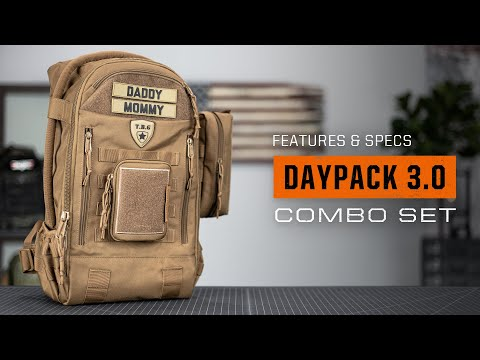 Tactical Baby Gear Daypack 3.0 Combo Set