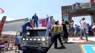 20 января команда КАМАЗ-мастер на ралли Дакар 2013