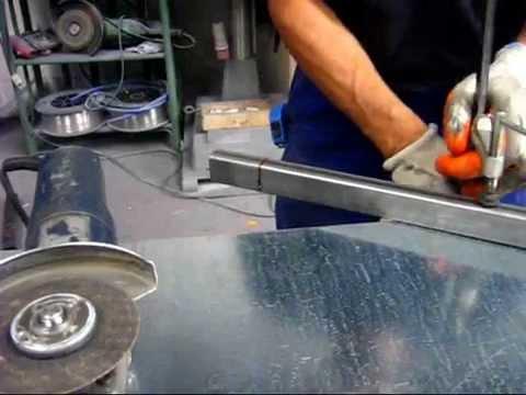 Come tagliare un tubolare in acciaio o alluminio