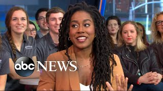Tomi Adeyemi opens up about her blockbuster book series live on 'GMA'