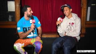 Lil Bibby talks 1st Fight, 1st Rap Check & Drake's Singing